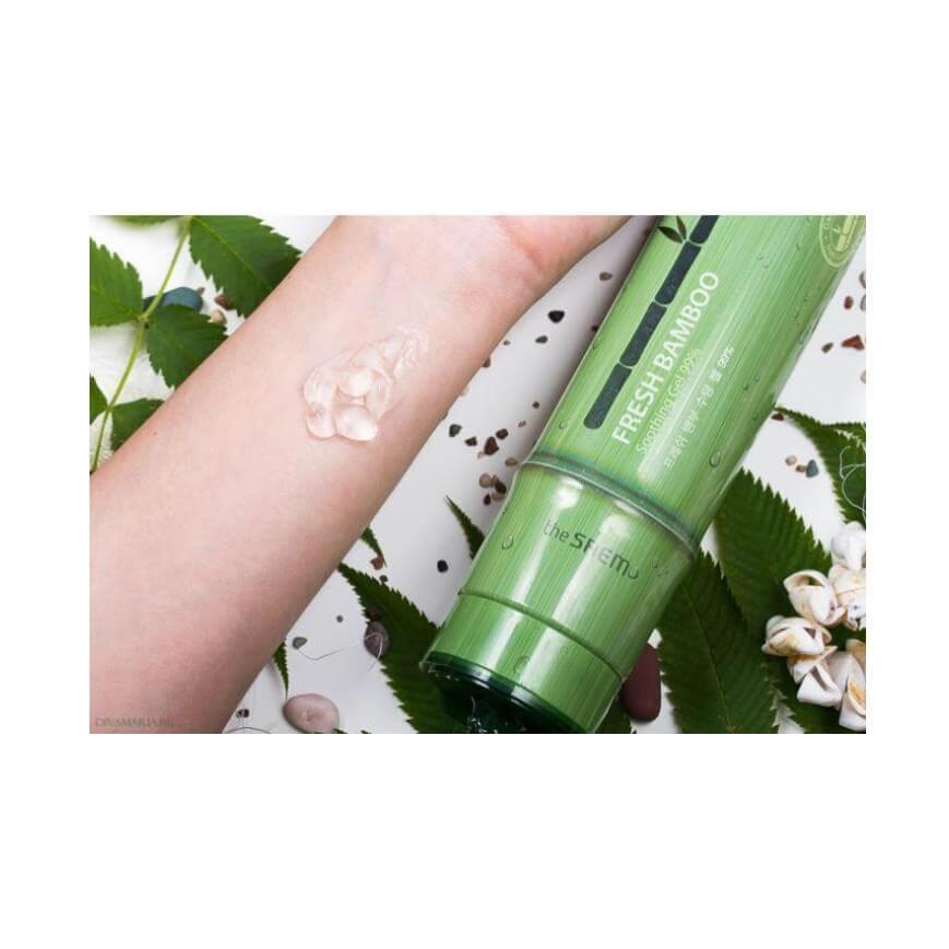 gel hidratante de bambú