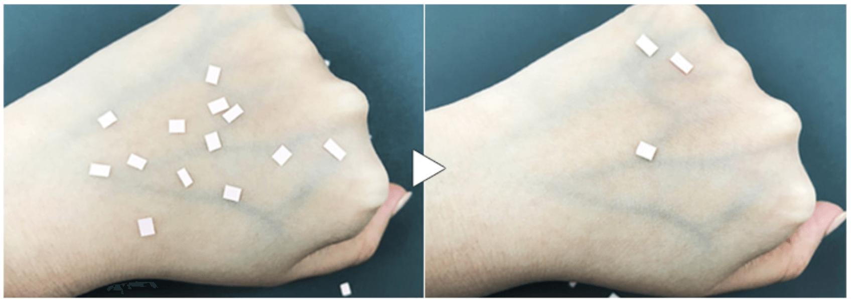 Prueba de pegajosidad de THELAVICOS Suvia Natural Skin CC Cushion