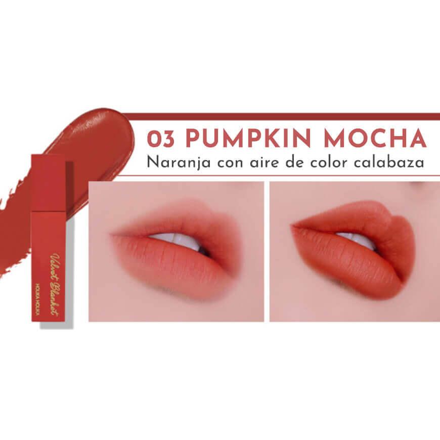 Holika Holika Velvet Blanket Tint 03 Pumpkin Mocha