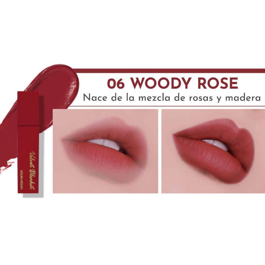 Holika Holika Velvet Blanket Tint 06 Woody Rose